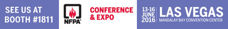 NFPA Conference and Expo - 13-16 Jun 2016 - Las Vegas - Manadalay Bay Convention Center