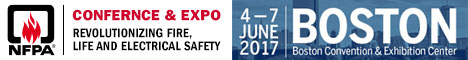 NFPA Conference & Expo - Boston - June 4-7, 2017
